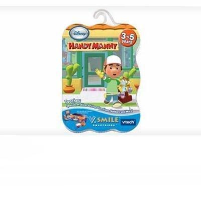 VTech V.Smile Smartridge: Handy Manny Smile Baby Learning System Cartridge