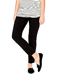 Women's Maternity Super Stretch Secret Fit Belly Ankle Skinny Work Pant