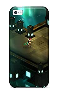 Iphone 5c Case Bumper Tpu Skin Cover For Transistor Game Anime City S Accessories