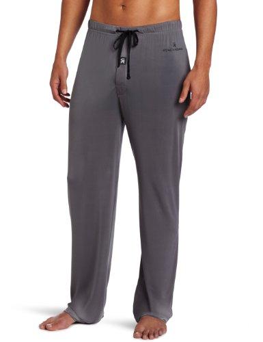 Stacy Adams Underwear Men's Regular Sleep Pant, Gray, Medium