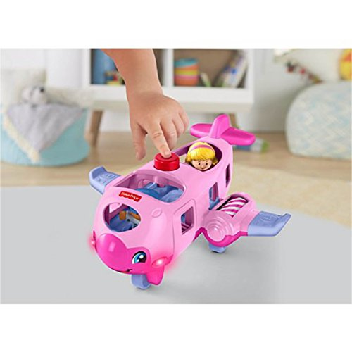 - Fisher-Price Little People Travel Together Airplane (Pink)