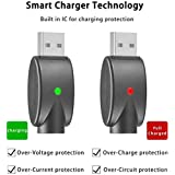 [Upgraded Version] USB Smart Charger with Overcharge Protection and Over-Voltage Protection - 4 Pack
