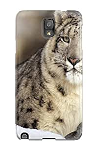 Tpu Case For Galaxy Note 3 With Snow Leopard Pictures