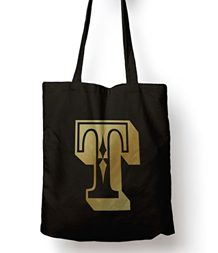 Shopping Rose Personalised Alphabet Tote Age Bag Gift T Letter xrYfqrnwT
