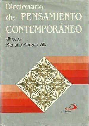 Diccionario de Pensamiento Contemporáneo