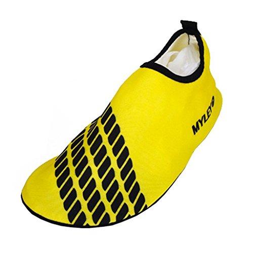Fitness Eagsouni® Yoga Skin Unisex Exercise Swim Yellow for Barefoot Socks Water Beach Shoes Aqua Surf zznr7x
