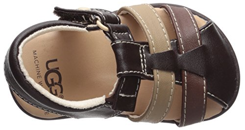 UGG Boys I Kolding Fisherman Sandal, Stout, 6-7 M US Infant - Image 8