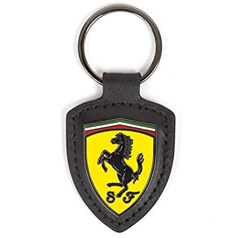 Ferrari 2018 - Llavero de Piel con Logotipo de Scuderia ...