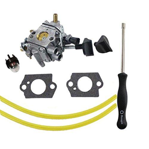 AISEN Pack of Carburetor & Gasket Choke Knob Adjustment Tool For Stihl BR500 BR550 BR600 Backpack Blower Replace Zama C1Q-S183 4282-120-0606 4282-120-0607 (Carburetor Choke Adjustment)