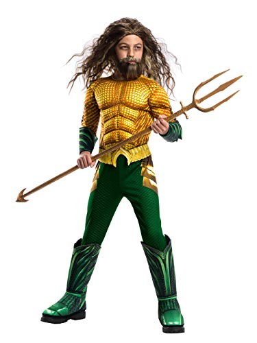 Rubie's Boys Aquaman Movie Child's Deluxe Costume, Large -