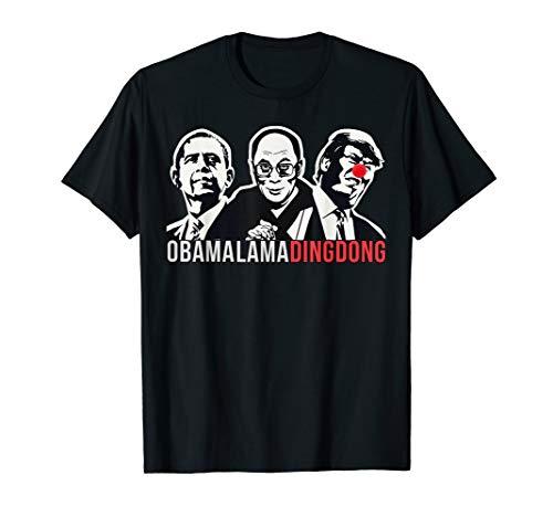 Obama Lama Ding Dong T-Shirt Funny Political Shirt