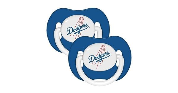 Amazon.com: Los Angeles Dodgers 2-Pack infantil Chupete Set ...