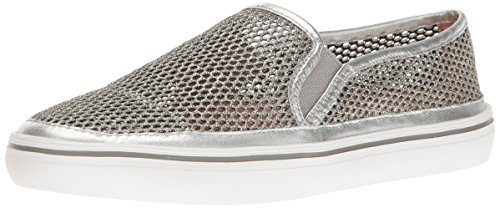 York Silver Mesh New Sneaker Sallie Kate Women's Fashion Spade x6qRwR