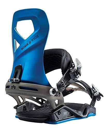 Rome Snowboards Vice Snowboard Bindings, Blue, Medium/Large