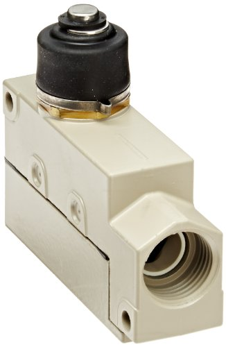 General Purpose Enclose Switch - Omron ZV2-N-2S General Purpose Enclose Switch, High Breaking Capacity and Durability, Sealed Plunger, Single Pole Double Throw AC, Base Mounting, 1/2-14NPSM Conduit Size