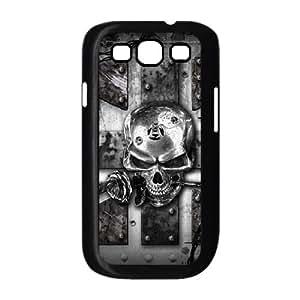 Samsung Galaxy S3 9300 Cell Phone Case Black Skull Roser Holder LV7092972