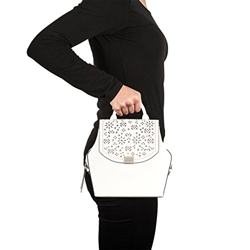 Cromia , Sac à main porté au dos pour femme blanc Weiß