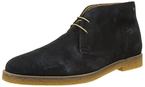 Base London Heren Charlton Suede Boots Blauw