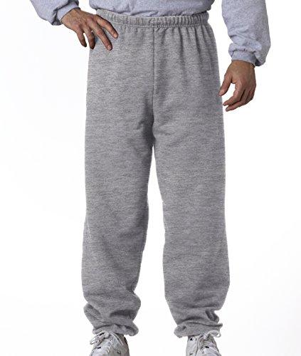 Jerzees mens 8 oz. 50/50 NuBlend Fleece Sweatpants(973)-OXFORD-L ()