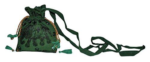 Indian Ladies Fashion Cross Body Shoulder Mini Bag 13 x 15 Cm