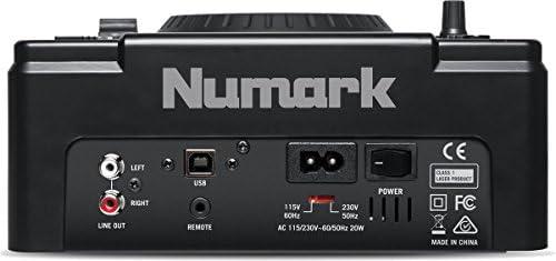 Tocadiscos CD-Tocadiscos de vinilo NUMARK NDX500 plano ...