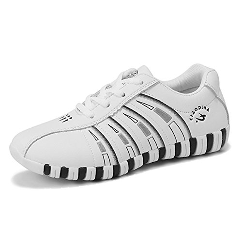 Fitness Bianca Basse Casual Lace Gracosy Sportive Atletico Donna Sneakers Palestra Mesh Scarpe Tennis Up Running All'aperto Sport Interior Ginnastica Fx7qq6nUXw