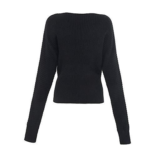 Innerternet Sleevel Blouse Noir Femmes Color Tops Blouse Long Chemises Dames T Casual Solid Hiver Shirt Blouse Shirt LaChe Automne r6dUrxY