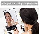 Waneway 12-Inch Screen Makeup Mirror with 24 LED