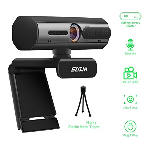 AutoFocus Full HD Webcam
