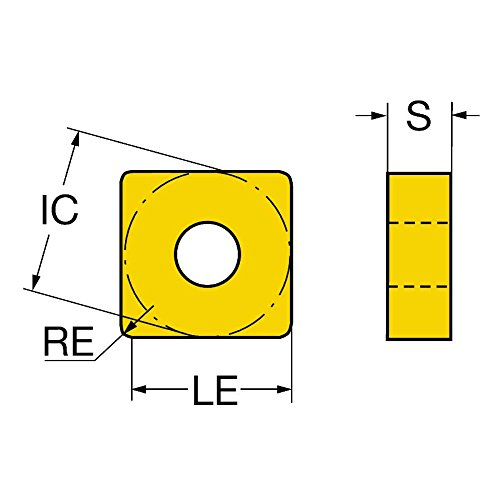 Sandvik Coromant snmg120408-qmh13/a t-max P inserto per tornitura confezione da 10