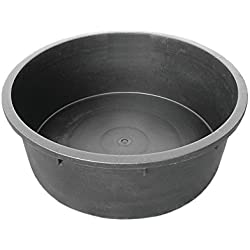 Red Gorilla Tubtrug Heavy Duty Rigid Tub (Deep Round) (Black)