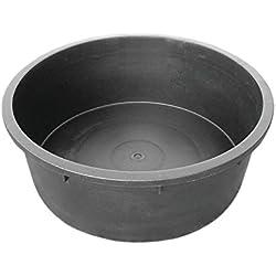 Red Gorilla Tubtrug Heavy Duty Rigid Tub (Deep Round) (Black)