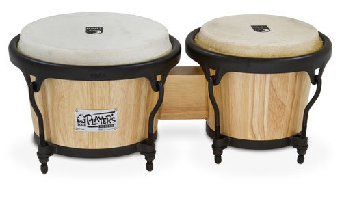 (Toca 2600N Player's Series Wood Bongos - Natural)