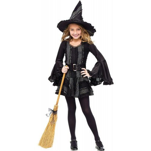 girls halloween costume stitch witch size 8 10 years