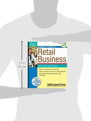 Start & Run a Retail Business (Start & Run Business Series): James ...