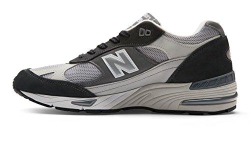 separation shoes 30583 f3363 M991xg New Balance Mainapps Running Sneaker white Retro  Uomo Grey Of1gSqgH5