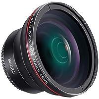 Neewer 58MM 0.43x Professional HD Wide Angle Lens (Macro Portion) for Canon EOS Rebel 77D T7i T6s T6i T6 T5i T5 T4i T3i…
