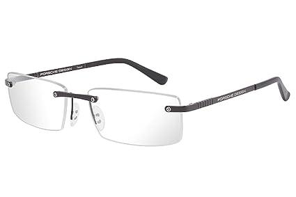 905bd79a504 Amazon.com  Porsche Design P8238 Eyeglasses 8238 Men frame Matte Black  56mm  Clothing