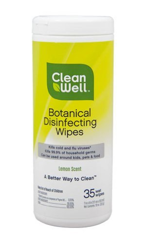 Cleanwell Disinfecting Wipes, 35 ct (3 pack)
