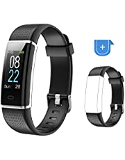 Willful Fitness Armband,Smartwatch Fitness Tracker mit Pulsmesser Wasserdicht IP68 Fitness Uhr Pulsuhr Schrittzähler Uhr Sportuhr Aktivitätstracker für Damen Herren Anruf SMS SNS Beachten