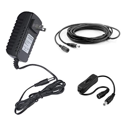MyVolts 12V Power Supply Adaptor Compatible with Nady Encore 200 Wireless mic System - US Plug - Premium