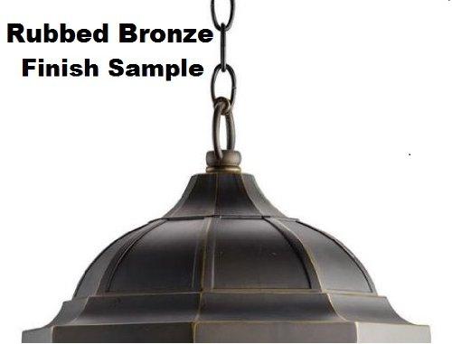 Kichler 4927RZ Accessory Outdoor Brass Chain 36-Inch, Rubbed Bronze