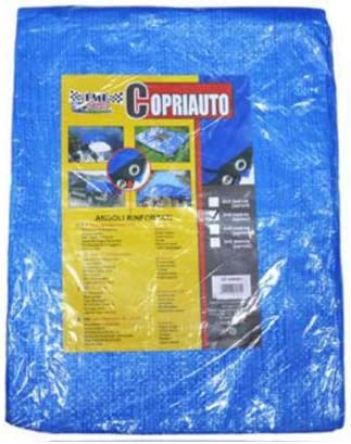 Lona Azul 4 x 5 m Multiusos para Tienda de campa/ña//Hamaca//Piscina//Jard/ín//Coche LEYENDAS Lona Impermeable Resistente para Lonas