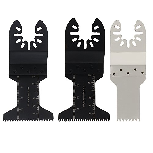 ESUMIC 15Pcs Oscillating Saw Blade Grinding Rasp Kit for RockWell Sonicrafter Work Oscillating Multitool Accesory by ESUMIC (Image #1)