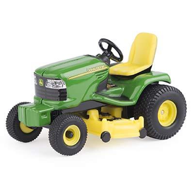John Deere Lawn Mowers For Sale >> Amazon Com John Deere Lawn Tractor 1 32 Scale Green Yellow Toys