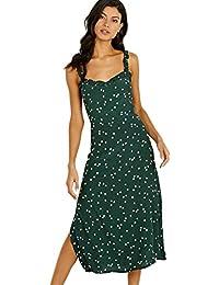 The Brand Gizele Midi Dress Linnea Dot Print