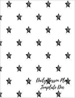 Daily Lesson Plan Template Doc Undated Lesson Plan Book For