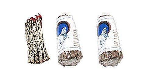 Incense Rope (Tibetan Incense : Sai Nag Champa Dhoop Rope Incense - Pack of 3)