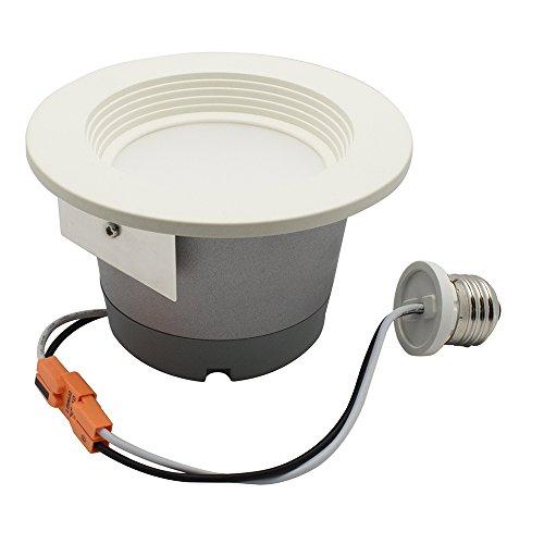 827 Home Light (Lenmar LED9DL4-827-D 50W Led Dimmable Warm Down Light, White)