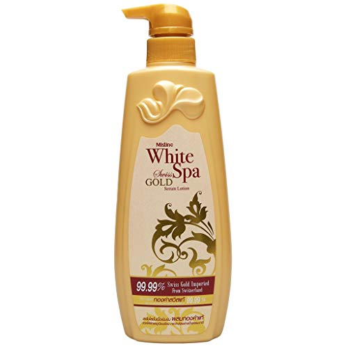 (Mistine White Spa Lotion (400ml, Gold Swiss))